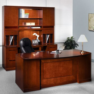 Mayline Group Sorrento Series 5-Piece Standard Desk Office Suite