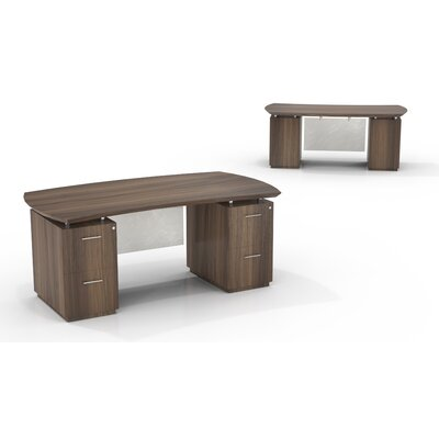 Mayline Group Sterling Desk with File/File Double Pedestals