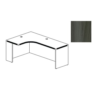 Mayline Group Aberdeen Extended Corner Desk