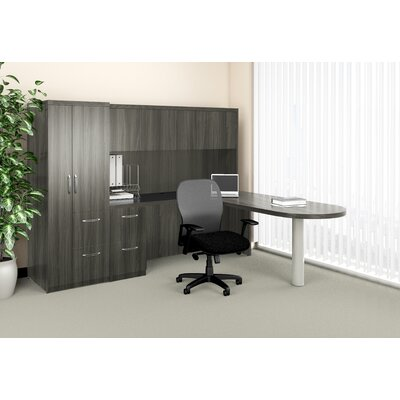 Mayline Group Aberdeen L-Shape Desk Offic..