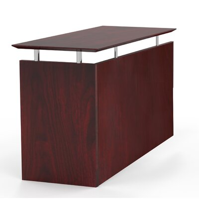 Mayline Group Medina Desk with Non-Handed Return