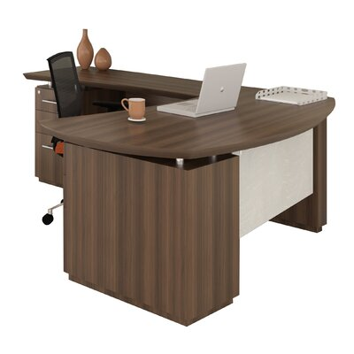 Mayline Group Sterling Desk with Pedestal