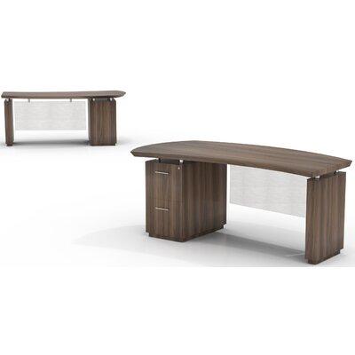 Mayline Group Sterling Desk with File/File Single Pedestal