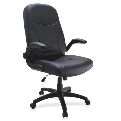 Mayline Group Big and Tall Series High-Back Leather Executive Chair with Arms