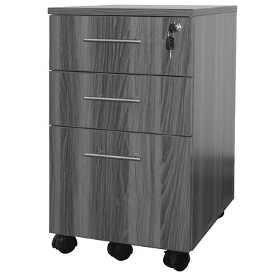 Mayline Group Medina 3 Drawer Mobile Pede..