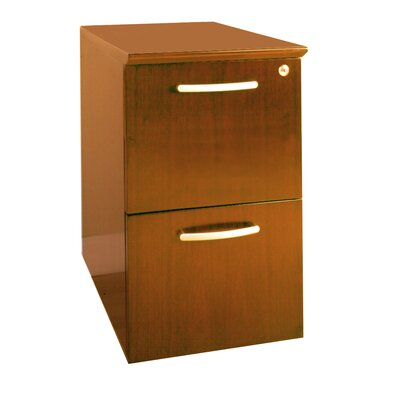 Mayline Group Napoli Series 2-Drawer Pedestal