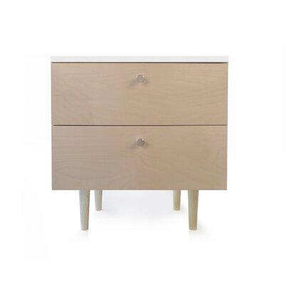 Spot on Square Ulm 2 Drawer Nightstand