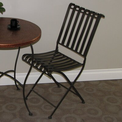 4D Concepts Metal Folding Side Chair (Set of 2)