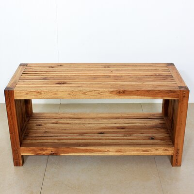 Strata Furniture Teak Slat Coffee Table
