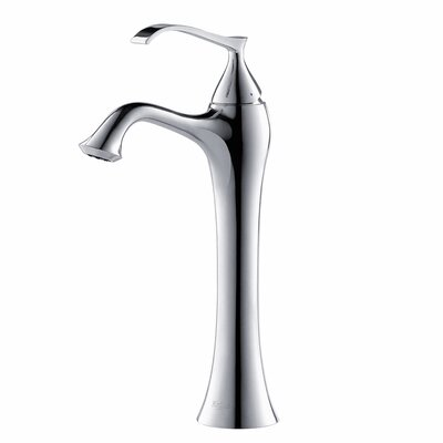 kraus ventus single hole single handle bathroom faucet with drain assembly u0026 reviews wayfair