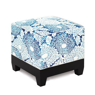Eastern Accents Indira Ink Cube Ottoman Image