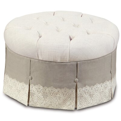 Eastern Accents Sabelle Ledge Round Ottoman