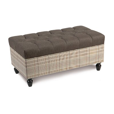 Eastern Accents Kai Flint Ottoman