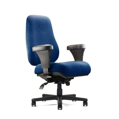 Neutral Posture Big and Tall Extra Large Back Task Chair with Extra Large Seat and Minimal Contour