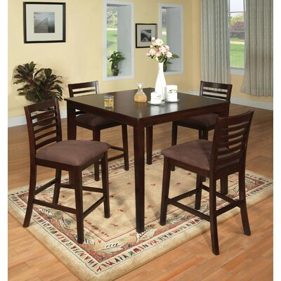 Hokku Designs Sydney Counter Height 5 Piece Dining Set
