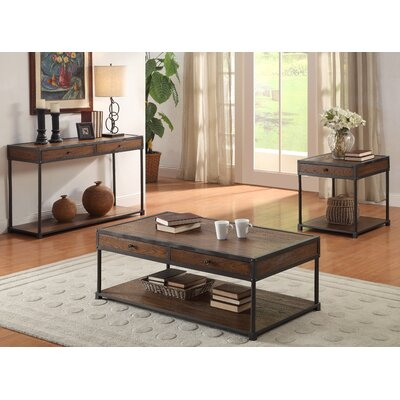 Hokku Designs Harold Coffee Table Set