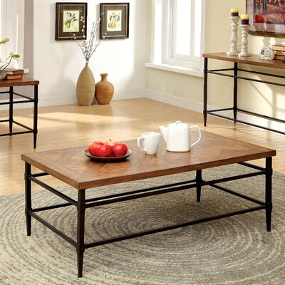 Three Posts Rocky Hill Coffee Table