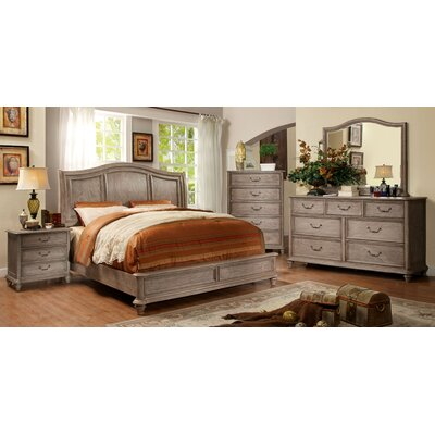 Hokku Designs Villefort Platform Customizable Bedroom Set