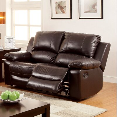 Hokku Designs Luria Reclining Loveseat
