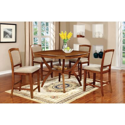 Hokku Designs Morgan 5 Piece Dining Set