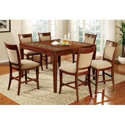 Hokku Designs Leto 7 Piece Dining Set
