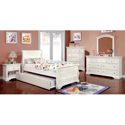 Hokku Designs Serena Sleigh Customizable Bedroom Set