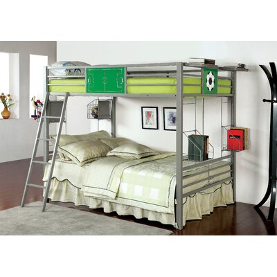 Hokku Designs Sporty Full over Full Bunk Bed