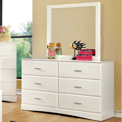 Hokku Designs Spectrum 6 Drawer Double Dresser