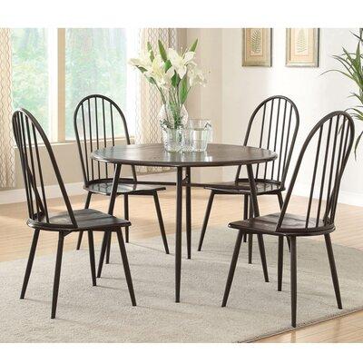 Hokku designs irion 5 piece dining set wayfair for Hokku designs dining room furniture
