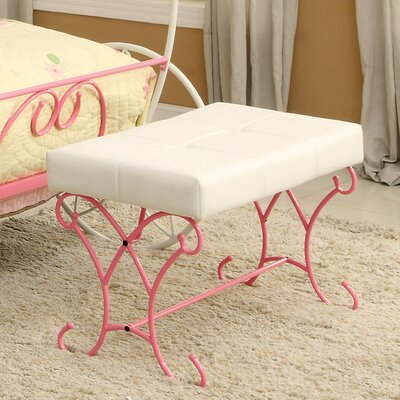 Hokku Designs Fairy Tale Metal Bedroom Bench