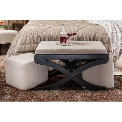 Hokku Designs Elegant Upholstered 3 Piece Bench ..