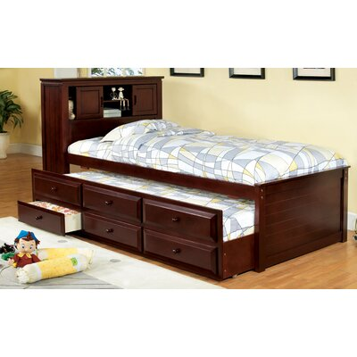 hokku designs montana twin captain bed with trundle 12921 | hokku designs montana platform captain twin bed with trundle