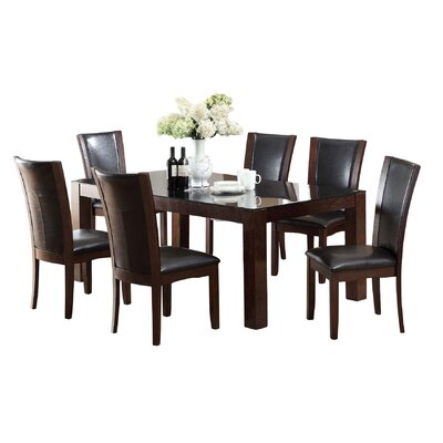 Hokku Designs Aston 7 Piece Dining Set