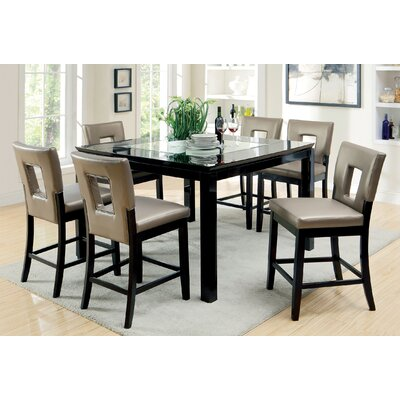 Hokku Designs Vanderbilte Counter Height Dining Table