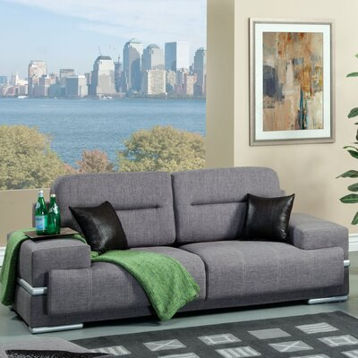 Hokku Designs Camberg Plush Sofa
