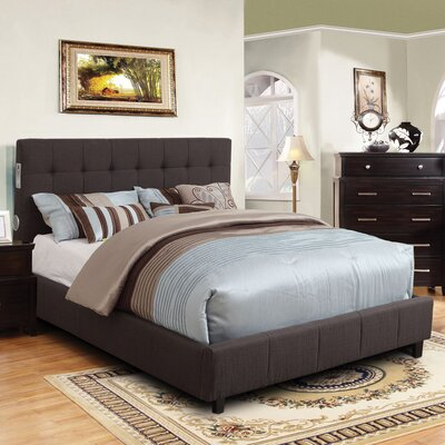 Hokku Designs Upholstered Panel Bed