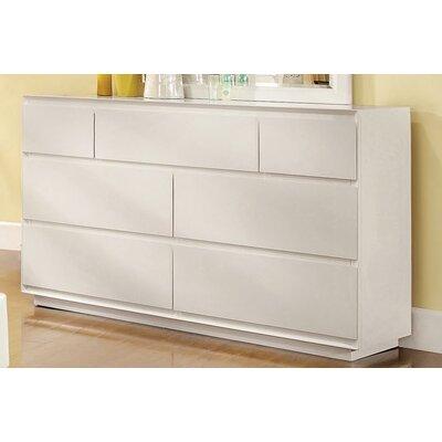 Hokku Designs Pearl 7 Drawer Dresser