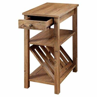 Hokku Designs Waldon 1 Drawer End Table