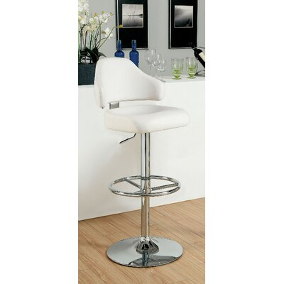 Hokku Designs Adjustable Height Swivel Bar Stool