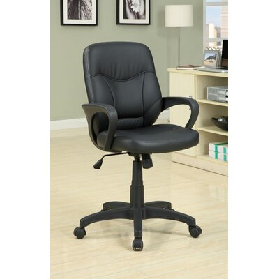Hokku Designs Midrad Leatherette Conference Chair
