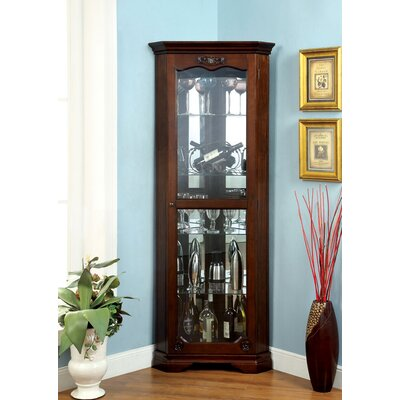 Rosalind Wheeler Evered Corner Curio Cabinet