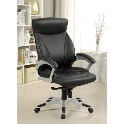 Latitude Run Justin High-Back Office Chair with Casters