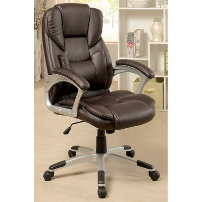 Latitude Run Kael High-Back Office Chair with Casters