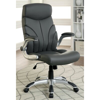Latitude Run Kaleb High-Back Office Chair with Casters