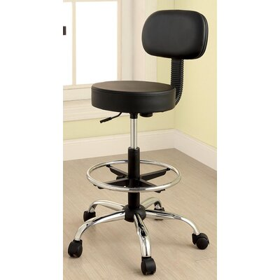 Latitude Run Karissa Mid-Back Office Chair with Casters