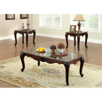 Rosalind Wheeler Morden 3 Piece Coffee Table Set