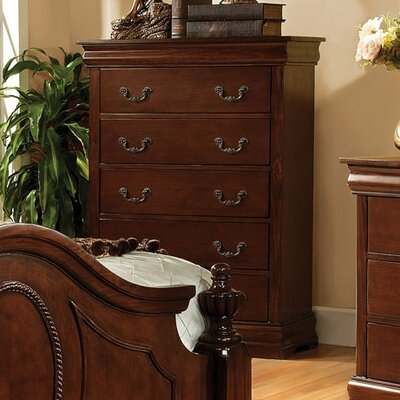 Rosalind Wheeler Highgate 5 Drawer Chest