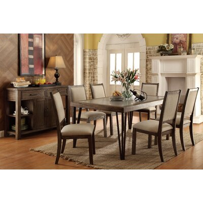 Canora Grey Suttons 7 Piece Dining Set