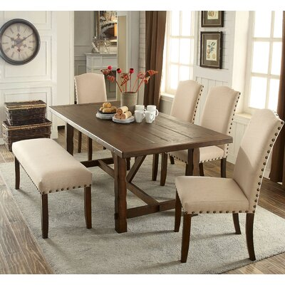 Loon Peak Holly Hills 6 Piece Dining Set