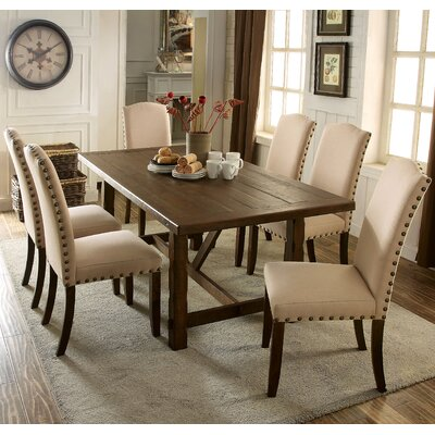 Loon Peak Holly Hills 7 Piece Dining Set